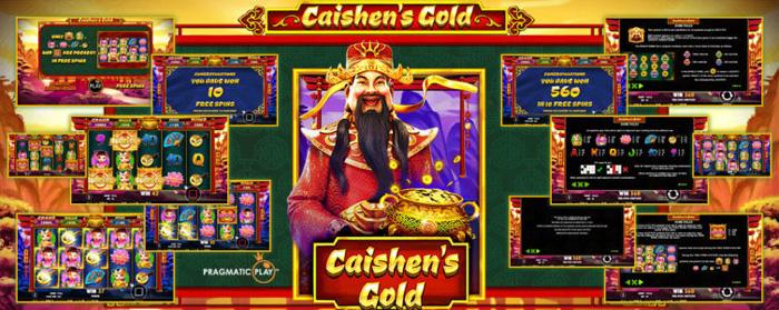 เกมสล็อตออนไลน์ Caishens Gold