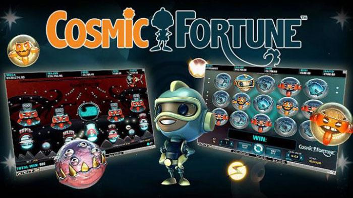 เกมสล็อตออนไลน์ Cosmic Fortune Slot