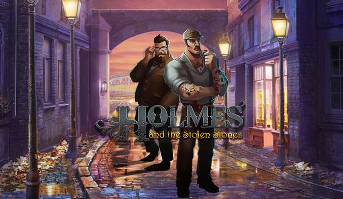 เกมสล็อตออนไลน์ Holmes and the stolen stones slot